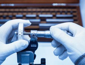 práctica de calibración de equipos de medición